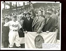 Original 8 X 10 Barry Stein Photo Leo Durocher Brooklyn Dodgers