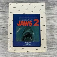 Jaws II 2 Motion Picture Horror Movie Soundtrack 8 Track Tape Cartridge Unopened