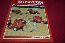 Hesston 5580 5540 5510 5530 Round Baler Dealer's Brochure YABE