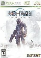 Microsoft XBox 360 Game Disc LOST PLANET EXTREME CONDITION COLONIES EDITION