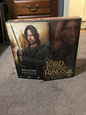 """Lord Of The Rings Strider/Aragorn Sideshow Collectibles 12"""" Figure"""