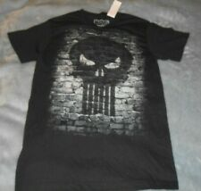 Black TShirt  Marvel Skull Face Mens Size Small  New with Tag