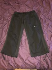 "Mens Large Nike Dri Fit Bottoms Joggers 3/4 Pants 32"" - 39"" Stretched Nikes Gym"