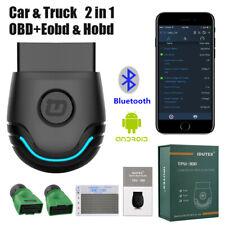 Bluetooth Diagnostic Scan Tool Desiel Heavy Duty Truck OBD2 Automotive Scanner
