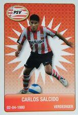 Plus Eredivisie Football tradingcard 2007/08 #166 Carlos Salcido PSV Eindhoven