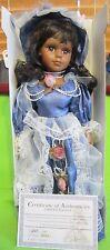 "Cathay Collection ""Simone"" Victorian Porcelain Doll 2966/5000 Ltd.16"" Tall NIB"
