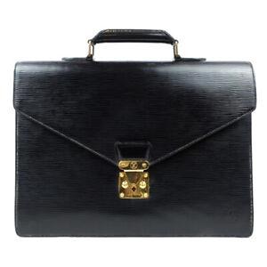 LOUIS VUITTON SELVIET Conseiller Epi Noir Business Business Bag M54422 M54422