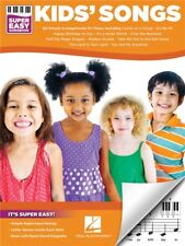 Kids' Songs Super Easy Songbook Learn to Play Beginner Starter Piano MUSIC BOOK