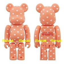 Be@rbrick 2014 Love & Happy Saint Valentine 100% Pink Heart Pattern Bearbrick 1p