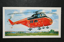 Westland Whirlwind HCC MK12  Helicopter  1960's Card   EXC