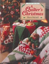 A QUILTER'S CHRISTMAS ~ Michell ~ 1993 HC