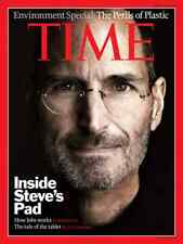 Pubblicità Poster STEVE JOBS - APPLE iPAD - MAC Time