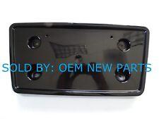 2007-2014 Cadillac Escalade & ESV Front License Plate Bracket Black Metallic
