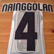 2015-16 come terza maglia della Roma Nainggolan #4 UFFICIALE STILSCREEN NOME NUMERO SET