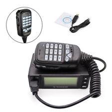 5W/10W/25W FM Dual Band 136-174/400-480MHz Amateur Car Trunk Radio Transceivers