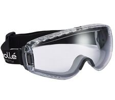 Bolle Pilot Goggles Clear Lens Safety Eye Protection Anto Fog Mist Anti Scratch