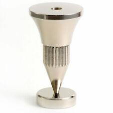 4 Hi Fi or Turntable Isolation Feet Audio Cones Speaker Spikes Nickel Isofee01