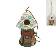 Fairy Garden Miniature Mushroom Cottage Birdhouse Feeder Bird House