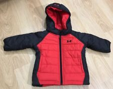 UNDER ARMOUR Jacket Baby Toddler Size 3/6 Months Red And Black NWOT