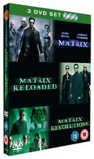 The Matrix Trilogy DVD (2005) Keanu Reeves