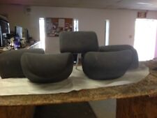 2012 Honda Fit Base Model Set of Grey Headrests Front and Rear USED OEM (5)