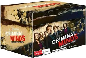 BRAND NEW Criminal Minds - The Complete Series 1-15 (DVD, 78-Disc Set) *PREORDER