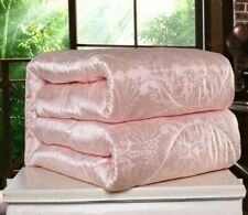 Silk Comforter Winter Blankets Cotton Warm Thick Quilted Patterned Home Textiles