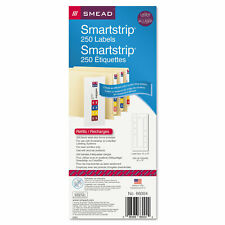 Smead Color Coded Smartstrip Refill Label Forms Laser Printer Assorted 250pack