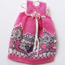 Modern Dress Dollhouse Girl Handmade Rose Paisley Miniature gemjane