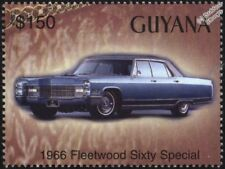 1966 CADILLAC Fleetwood Sixty Special Mint Automobile Car Stamp (2003 Guyana)