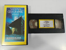 LA LEGGENDA DEL TITANIC - VHS TAPE NASTRO NATIONAL GEOGRAPHIC VIDEO