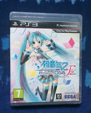 Hatsune Miku Proyecto Diva F 2nd-Sony Playstation 3 PS3 Juego, Pal
