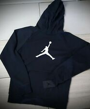 boys  Air Jordan Jumpman hoodie Black and White