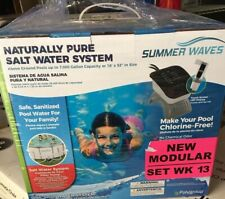 summer waves salt water system Up To 7,000 Gallon *Free Shipping w/ Insurance*