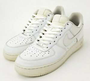 """NIKE AIR FORCE 1""""AF1"""" LOW 07(2009) Triple White (315122-111) Sneakers. Size 10"""