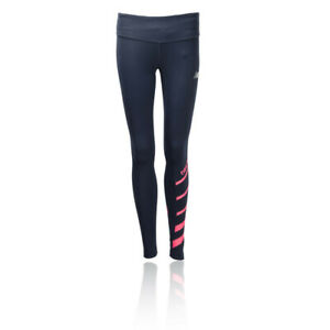 New Balance Womens Accelerate Running Tights Bottoms Pants Trousers Black Sports