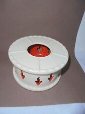 27874 Stövchen Art Deco Villeroy & Boch Dresden 3619 Teelicht Keramik oven V & B