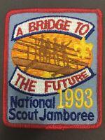 Vintage BSA Boy Scouts Patch 1993 Bridge to the Future National Scout Jamboree