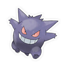 Gengar Pokemon Go Pokemon Waterproof Self Adhesive Vinyl Sticker