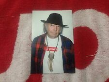 SUPREME 2015 S/S NEIL YOUNG PHOTO PRINT BOX LOGO PCL CDG STICKER VINYL DECAL