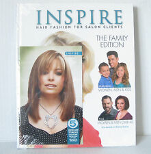 Inspire Hair Fashion Book for Salon Clients Vol. 98 : Family Edition + Celebrity