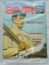 Nap Lajoie SMR Sports Market Report PSA Price Guide Magazine May 2018 Sealed