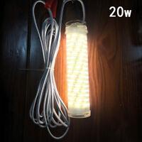 12V LED 20W/30W Underwater Fish Night Fishing Light Squid Lamp Lure Bait Finder