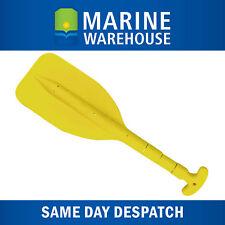 Mini Telescopic Marine Plastic Paddle Yellow - Adjustable 530mm - 1075mm 300058