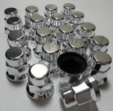 20x 33mm WHEEL NUT COVER CHROME PLASTIC CAPS BOLT fit SCANIA VOLVO MERCEDES DAF