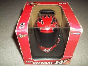 New in Box 2009 Tony Stewart Haas Racing #14 Winners Circle Mini Helmet Flames