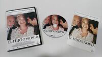 EL HIJO DE LA NOVIA DVD RICARDO DARIN HECTOR ALTERIO CASTELLANO