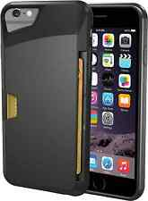 iPhone 6S Wallet Case Credit Card Holder Black Vault Slim New Free Shipping Silk