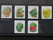 SURINAME,SURINAM '1978 ** MNH 729/734 YT 2,50 EUR FLORE,FLORA,FRUITS,VRUCHTEN