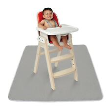 """High Chair Floor Mat Easy Cleaning Snack Mat Baby Toddler Kids Feed 42"""" Gift New"""